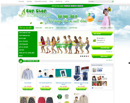 Website bán hàng đẳng cấp và sáng tạo