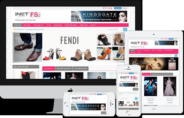 Thiết kế web bán hàng chuẩn SEO chuyên nghiệp