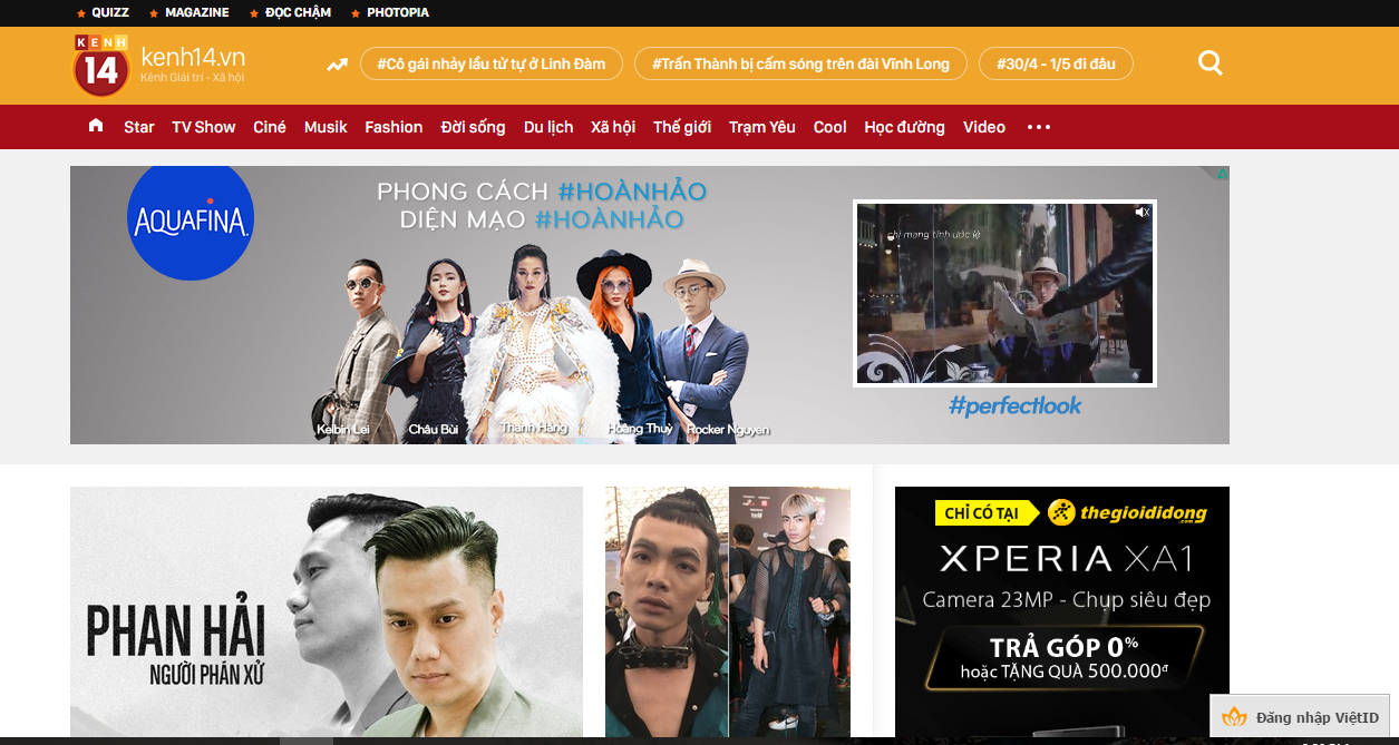 Top 20 website lớn nhất của Việt Nam năm 2016