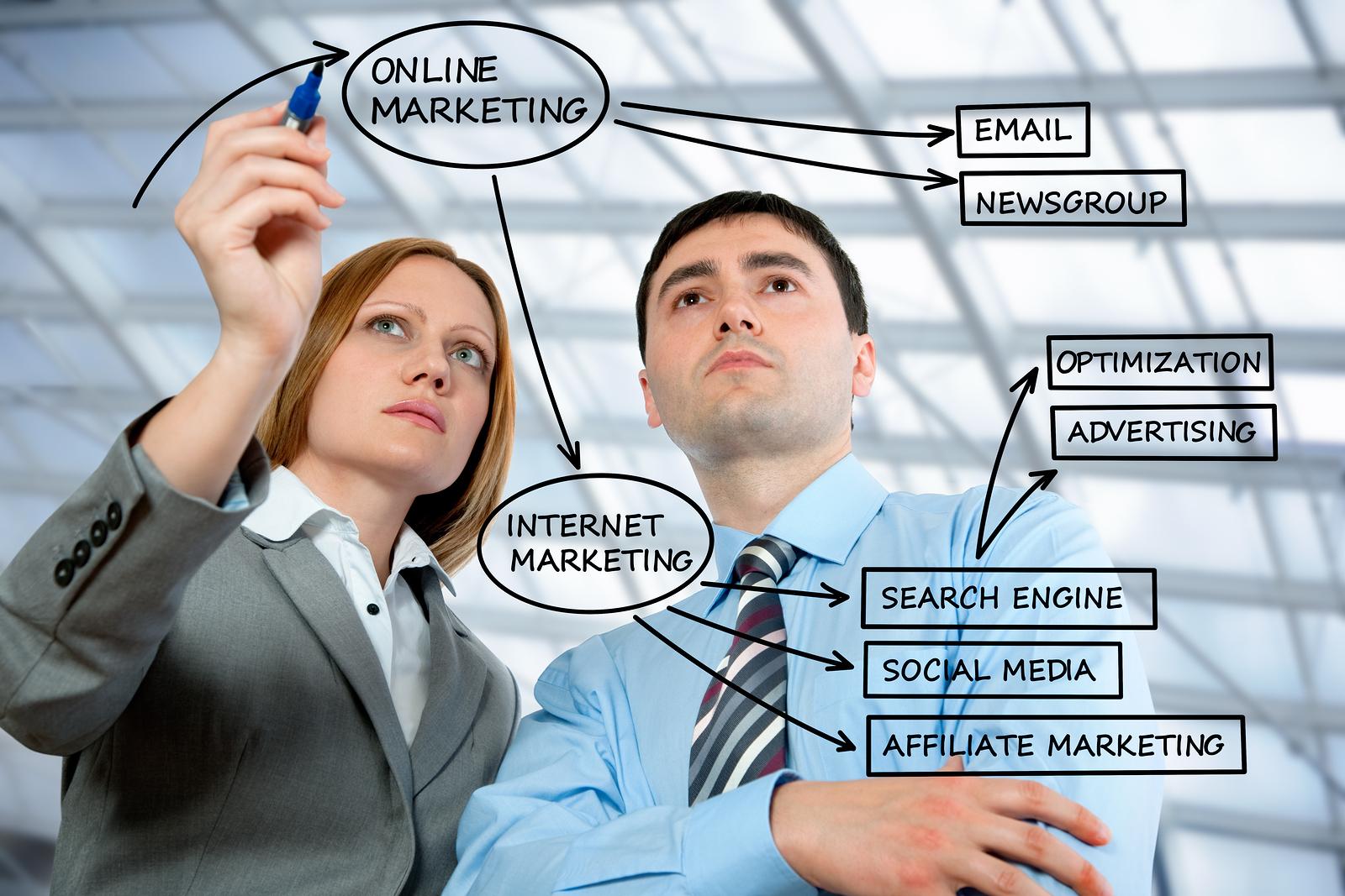 nhân viên marketing online làm gì mỗi ngày ?